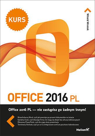 Okładka książki/ebooka Office 2016 PL. Kurs