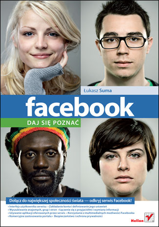 Okładka książki/ebooka Facebook. Daj się poznać