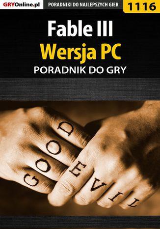 Okładka książki/ebooka Fable III - PC - poradnik do gry