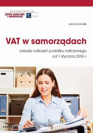 Okładka książki/ebooka VAT w samorządach