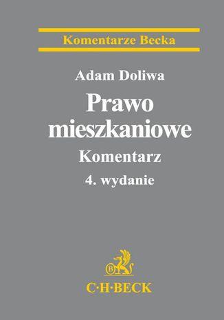 Okładka książki/ebooka Prawo mieszkaniowe. Komentarz