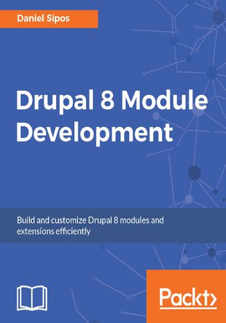 Okładka książki/ebooka Drupal 8 Module Development