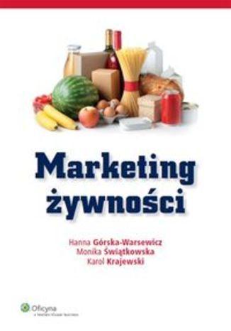 Okładka książki Marketing żywności