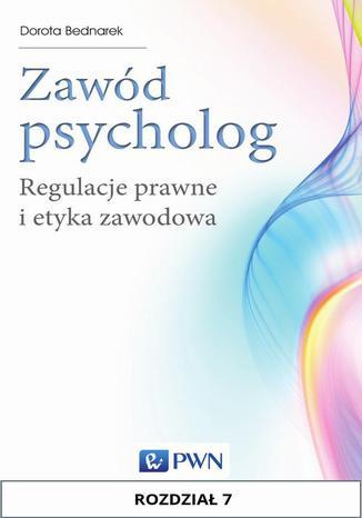 Okładka książki/ebooka Zawód psycholog. Rozdział 7. Standardy etyczne w diagnozie psychologicznej