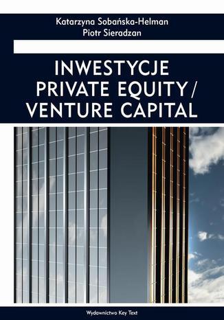 Okładka książki/ebooka Inwestycje private equity/venture capital