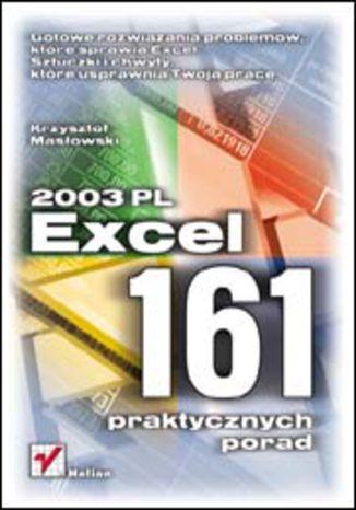 Okładka książki/ebooka Excel 2003 PL. 161 praktycznych porad