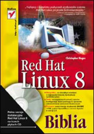 Okładka książki/ebooka Red Hat Linux 8. Biblia