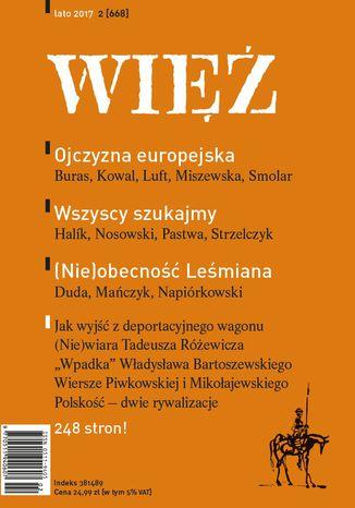 Okładka książki/ebooka Więź 2/2017