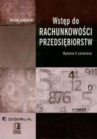 Okładka książki/ebooka Wstęp do rachunkowości przedsiębiorstw