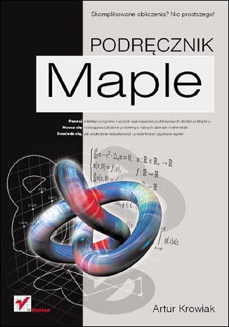 Okładka książki/ebooka Maple. Podręcznik