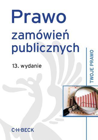Okładka książki/ebooka Prawo zamówień publicznych