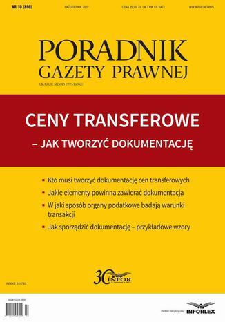 Okładka książki/ebooka Ceny transferowe Jak twotrzyć dokumentację