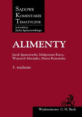 Okładka książki/ebooka Alimenty. Wydanie 3