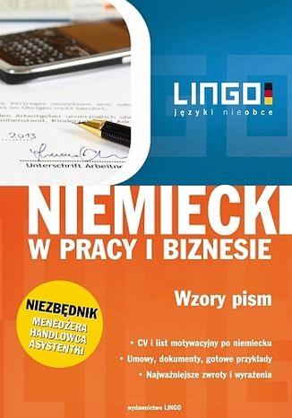 Okładka książki/ebooka Niemiecki w pracy i biznesie. Wzory pism