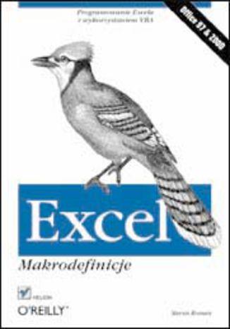 Okładka książki/ebooka Excel. Makrodefinicje