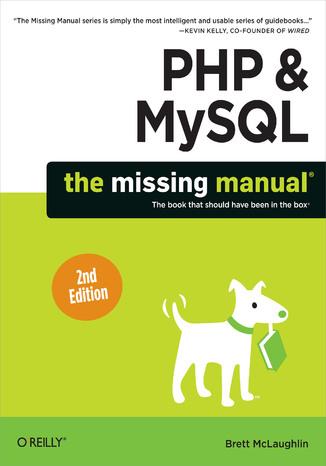 Okładka książki/ebooka PHP & MySQL: The Missing Manual. 2nd Edition