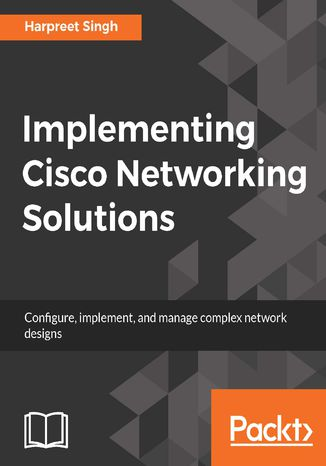 Okładka książki/ebooka Implementing Cisco Networking Solutions