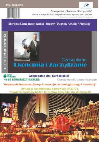 Okładka książki/ebooka Czasopismo Ekonomia i Zarządzanie nr 4 lip/2013