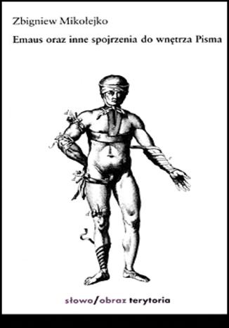 Okładka książki/ebooka Emaus oraz inne spojrzenia do wnętrza Pisma
