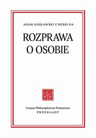 Okładka książki/ebooka Rozprawa o osobie