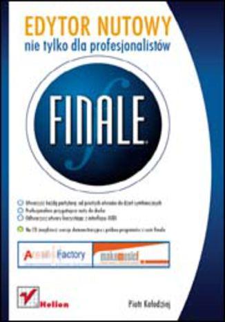 Okładka książki/ebooka Finale. Edytor nutowy nie tylko dla profesjonalistów