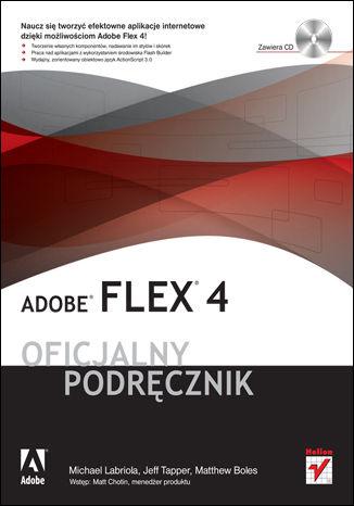 Okładka książki/ebooka Adobe Flex 4. Oficjalny podręcznik