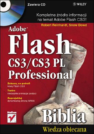 Okładka książki/ebooka Adobe Flash CS3/CS3 PL Professional. Biblia