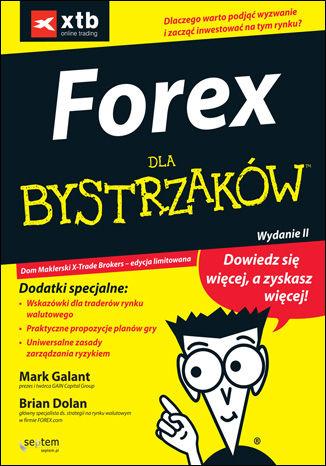 Okładka książki/ebooka FOREX dla bystrzaków. Wydanie II