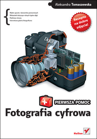 Okładka książki/ebooka Fotografia cyfrowa. Pierwsza pomoc