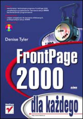 Okładka książki/ebooka FrontPage 2000 dla każdego