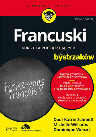 Okładka książki/ebooka Francuski dla bystrzaków. Wydanie II