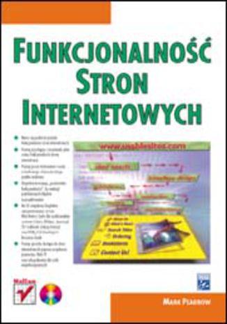 Okładka książki/ebooka Funkcjonalność stron internetowych