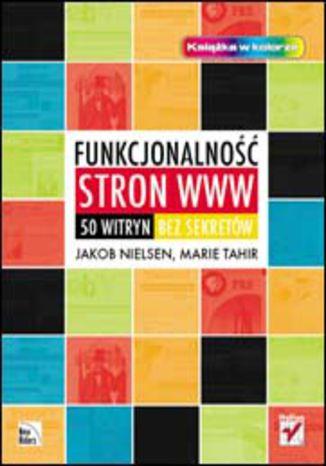 Okładka książki/ebooka Funkcjonalność stron www. 50 witryn bez sekretów
