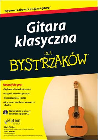 Okładka książki Gitara klasyczna dla bystrzaków