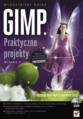 Okładka książki/ebooka GIMP. Praktyczne projekty. Wydanie II