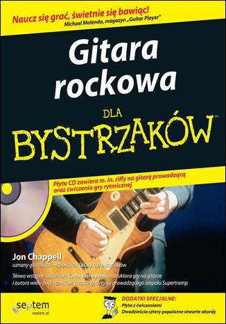 Okładka książki Gitara rockowa dla bystrzaków