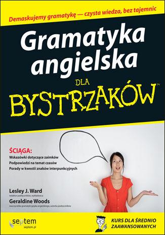 Okładka książki/ebooka Gramatyka angielska dla bystrzaków