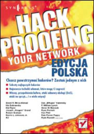 Okładka książki/ebooka Hack Proofing Your Network. Edycja polska
