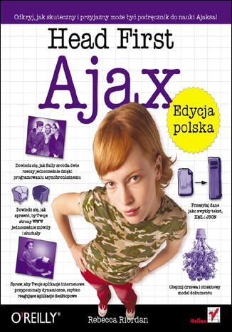 Ebook Head First Ajax. Edycja polska