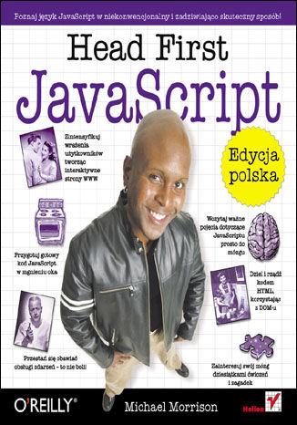 Okładka książki Head First JavaScript. Edycja polska