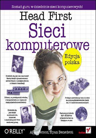 Okładka książki Head First. Sieci komputerowe. Edycja polska