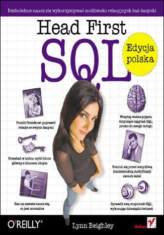 Okładka książki Head First SQL. Edycja polska (Rusz głową!)