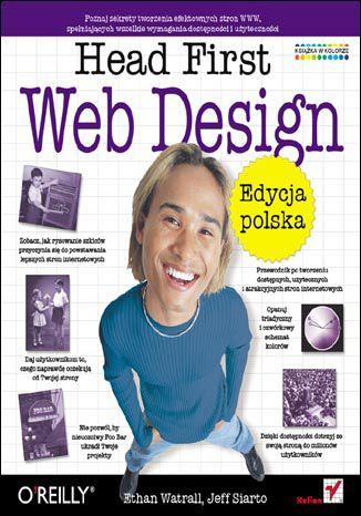 Okładka książki Head First Web Design. Edycja polska