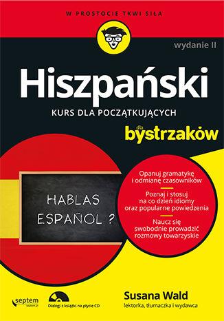 Okładka książki/ebooka Hiszpański dla bystrzaków. Wydanie II