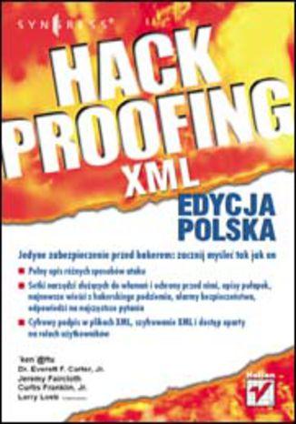 Okładka książki/ebooka Hack Proofing XML. Edycja polska
