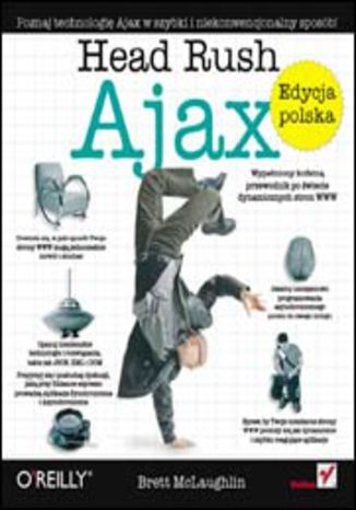 Okładka książki Head Rush Ajax (Rusz głową!)