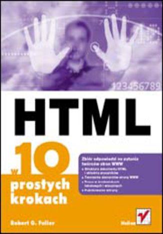 Okładka książki HTML w 10 prostych krokach