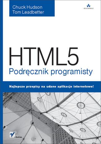 Okładka książki/ebooka HTML5. Podręcznik programisty