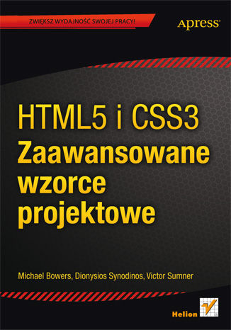 Okładka książki/ebooka HTML5 i CSS3. Zaawansowane wzorce projektowe