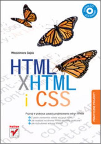 Okładka książki HTML, XHTML i CSS. Praktyczne projekty